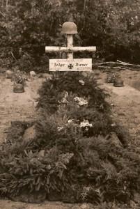 Oberst und Regt.Kdr. I.R.410 Fedor Diener gef. am 22.08.1941